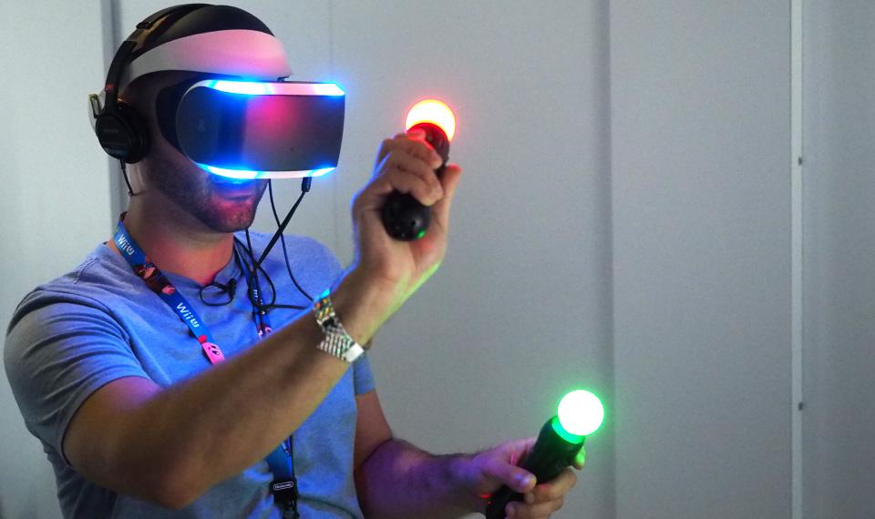 Project Morpheus от Sony на E3