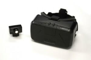 Второй прототип Oculus Rift — включая маленькую камеру для отслеживания положения головы