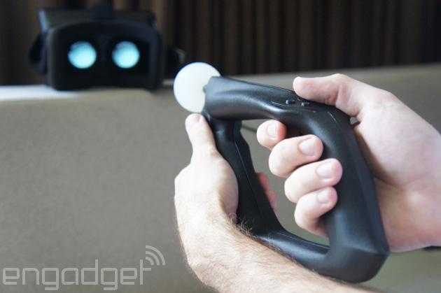 Trinity VR представляет Magnum VR - контроллер для FPS