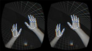 «Сырое» изображение рук с сенсора Leap Motion